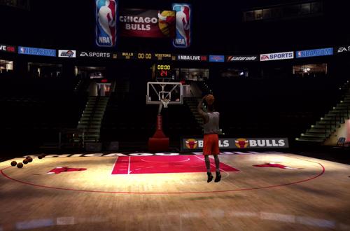 Shooting Around With Ben Gordon (NBA Live 08)