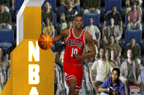 B.J. Armstrong in NBA Live 2000