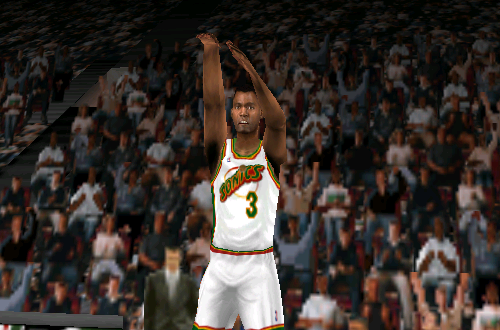 Dale Ellis in NBA Live 99