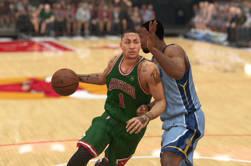 Derrick Rose in NBA 2K14 (PS5)