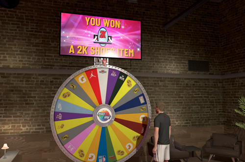 5 Best Daily Spin Prizes: 2K Shoes Item