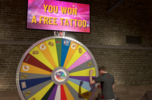 5 Worst Daily Spin Prizes: Free Tattoo