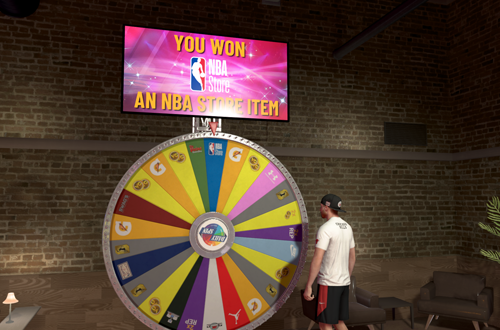 5 Best Daily Spin Prizes: NBA Store Item