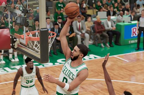 Jayson Tatum in NBA 2K21 Next Gen