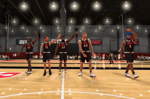Rec Players Focus on Hair Before Teamwork (NBA 2K21)
