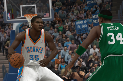 Cover Player Kevin Durant in NBA Elite 11