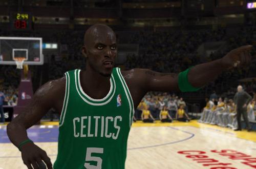 Kevin Garnett in NBA Elite 11