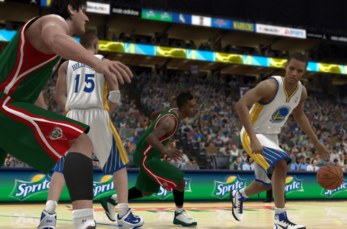 Stephen Curry in NBA Elite 11