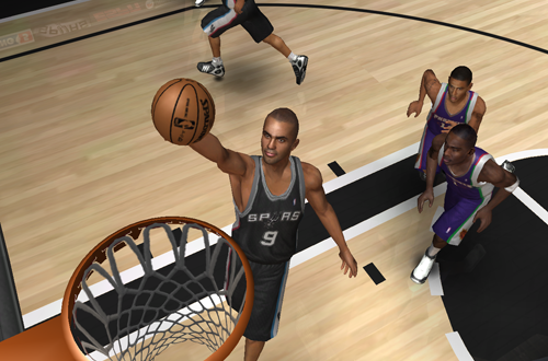 Tony Parker in NBA Live 07 PC