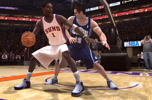 Own the Paint in NBA Live 08
