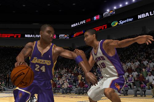 Kobe Bryant in NBA Live 08 (PlayStation 2)