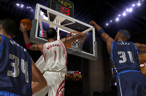 Tracy McGrady in NBA Live 08 (PlayStation 2)