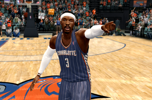 Charlotte Bobcats Race Day Jersey in NBA Live 10