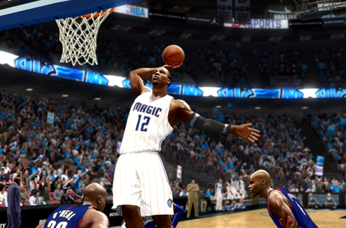 Cover Player Dwight Howard in NBA Live 10