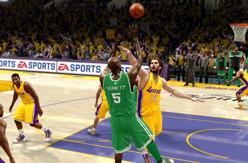 NBA Finals Presentation in NBA Live 10