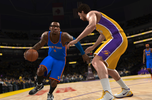 Amar'e Stoudemire vs. Pau Gasol in NBA Live 13