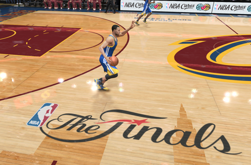 Stephen Curry in the NBA Finals (NBA Live 15)
