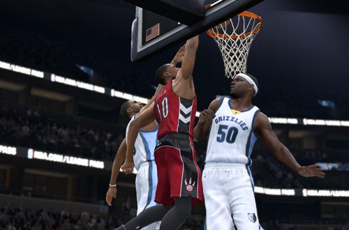 DeMar DeRozan in NBA Live 15