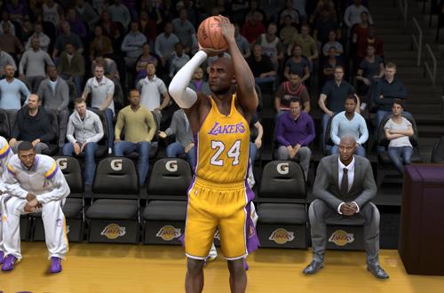 Kobe Bryant in NBA Live 15