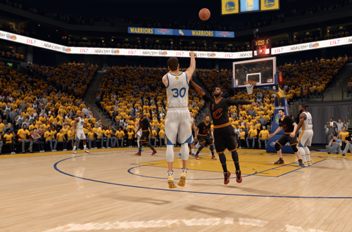 Steph Curry in NBA Live 16