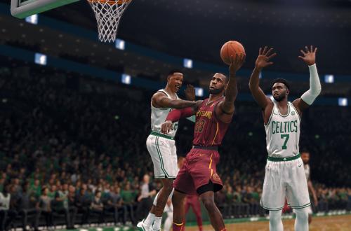 LeBron James in NBA Live 18