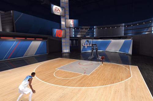 Practice Mode in NBA Live 18