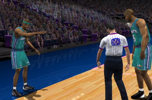 Former NBA Teams: Original Charlotte Hornets (NBA Live 2002)