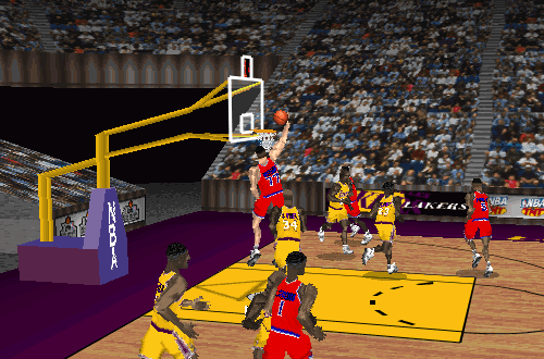 Gheorghe Muresan in NBA Live 97