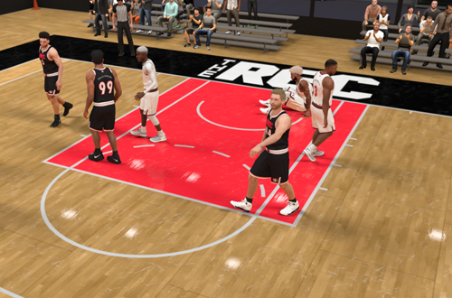 End of Game in The Rec (NBA 2K21)