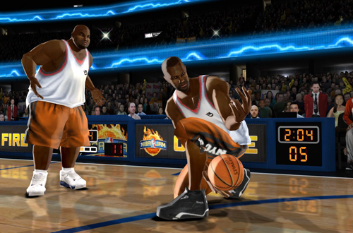 NBA Street Characters in NBA Jam: On Fire Edition