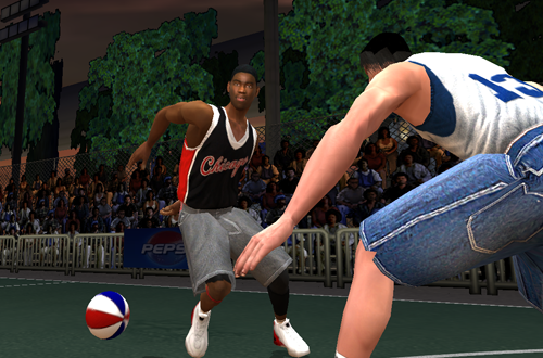 Jamal Crawford in NBA Live Street 2003