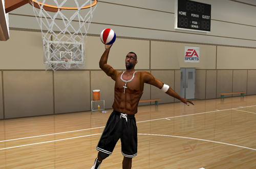 Rappers in NBA Live Street 2003