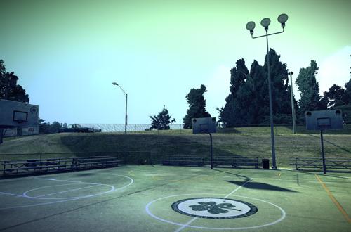 Cloverdale in NBA Street Homecourt