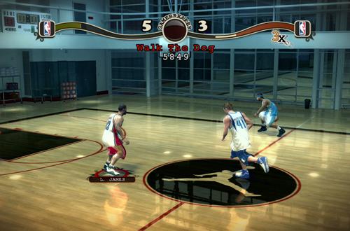 NBA Street Homecourt Gameplay