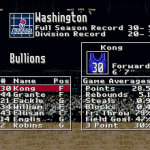 Washington Bullions (Super Dunk Shot)