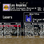 Los Angeles Lasers (Super Dunk Shot)