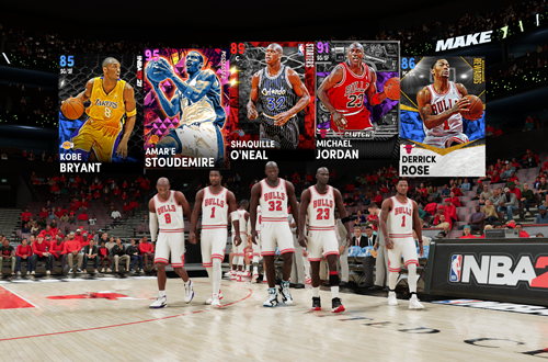 Starters in MyTEAM (NBA 2K21)