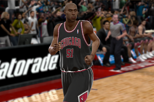 Michael Ruffin in Chicago (NBA 2K9)