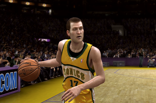 Brent Barry in Seattle (NBA Live 08)