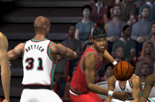 Eddie Robinson vs. Shane Battier (NBA Live 2002)
