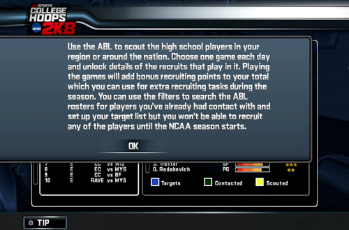ABL in Legacy Mode (College Hoops 2K8)