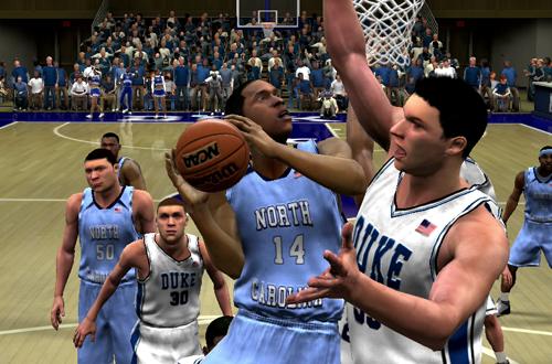 North Carolina vs Duke (College Hoops 2K8)