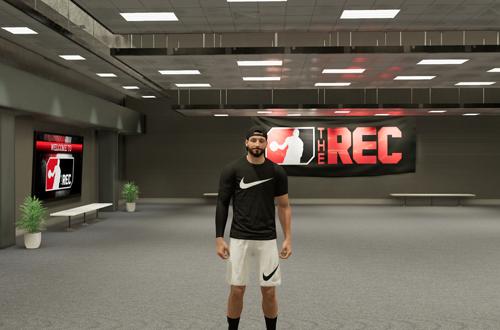 Foyer in The Rec (NBA 2K21 Next Gen)