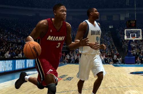 Dwyane Wade in NBA Live 06 (Xbox 360)