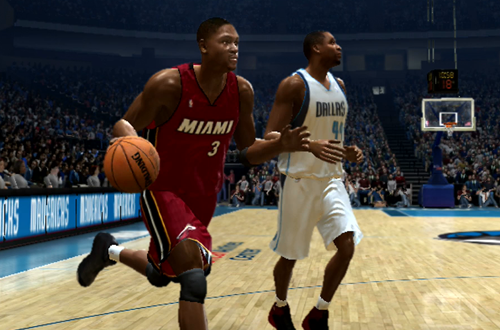 Dwyane Wade in the NBA Finals (NBA Live 06 Xbox 360)