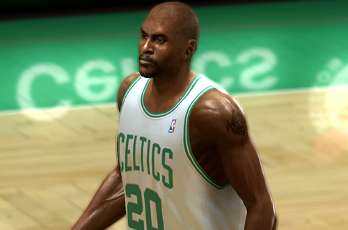 Erick Strickland in NBA Live 06 (Xbox 360)
