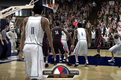 Game Tempo in NCAA Basketball 09