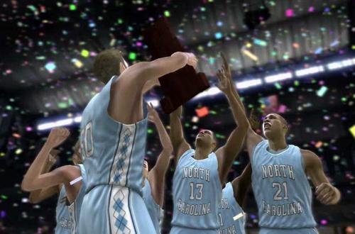 Champion North Carolina Tar Heels (NCAA Basketball 09)