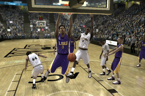 LSU vs Wake Forest (NCAA March Madness 08)