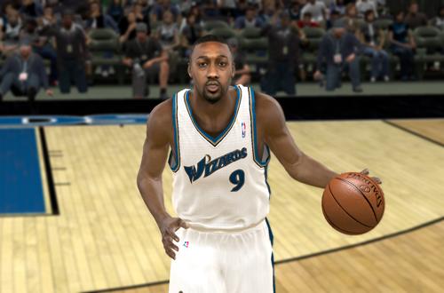 Gilbert Arenas in NBA 2K11